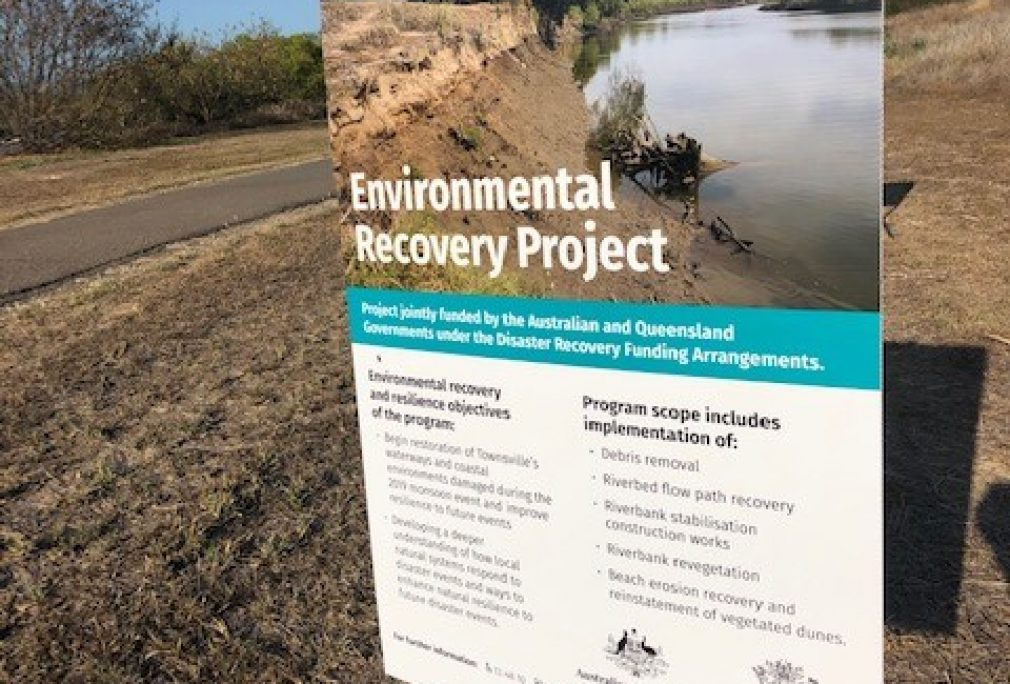 Preparatory Works for Riverbank Restoration – Ross River, Townsville